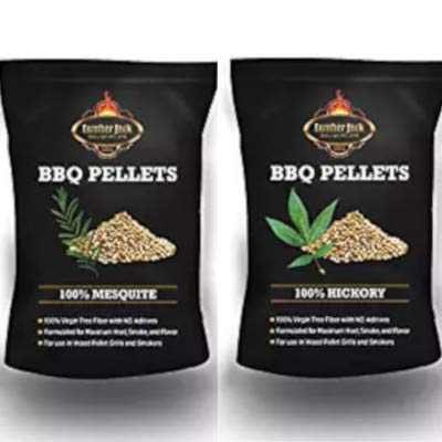 Lumber Jack BBQ 40 Pounds Pellet Assortment (Pick 2 x 20 Pound Bags) See Description for Flavors by Lumber Jack (Image #1)