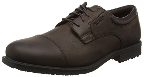 Rockport Herren Essential Details Waterproof Cap Toe Schnürhalbschuhe Braun (Dk Brown)