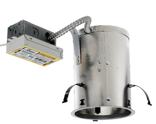 Juno Lighting ICPL513RE 5-Inch IC Rated 13W Vertical CFL Remodel Housing, 120V HPF Ballast ()
