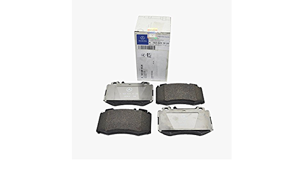 PSM Premium Semi-Metallic Brake Pad Set fits Front 2003 Mercedes-Benz ML320 Notes: 2 Clips