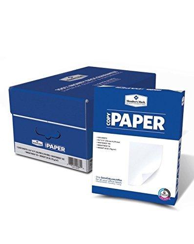 """5000 Sheets Ten Ream Case Copy Paper 20lb, 92 Bright, 8-1/2 x 11"""" NEW"""