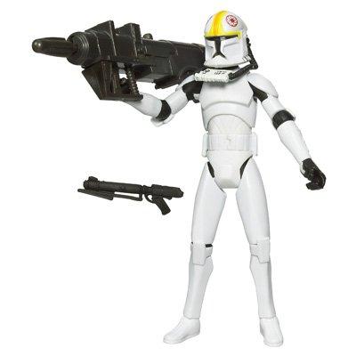 Star Wars Clone Wars Animated Action Figure No. 11 Clone Pilot ODD BALL