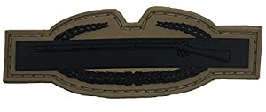 Subdued Us Army Combat Infantry Pvc Badge