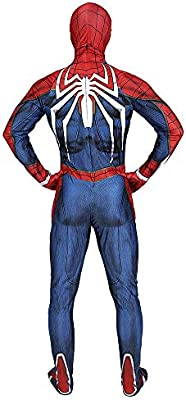 Cosplay Ropa Marvel Spiderman Traje De Anime PS4 Juego Spider-Man ...