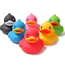 Bath Toys, Chickwin Small Duck Baby Bathing Toys Kids Bath Play Water Pool Tub Animals Sounding Toy