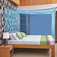 Iblay Mosquito NET for Double Bed Poly Cotton - Mosquito Net for Baby | Bedroom | Family | Queen, King Size Bed