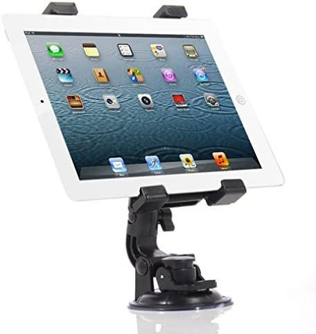 Tab 10.1 Universal 360 Degree Rotatable Windshield Car Mount Window Tablet Holder for LG G Pad and All Tablets Galaxy NotePRO 12.2 Google Nexus 7 10 Pro Dell Venue 8 Galaxy Tab 8.9 9