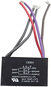 lonye 5 alambre ventilador de techo condensador para New Tech ...