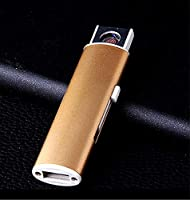 1pcs Fashion USB Electronic Lighter Rechargeable Flameless Cigar Cigarette USB