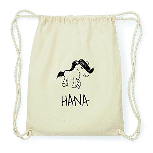 JOllipets HANA Hipster Turnbeutel Tasche Rucksack aus Baumwolle Design: Pony mT8pe40jRf