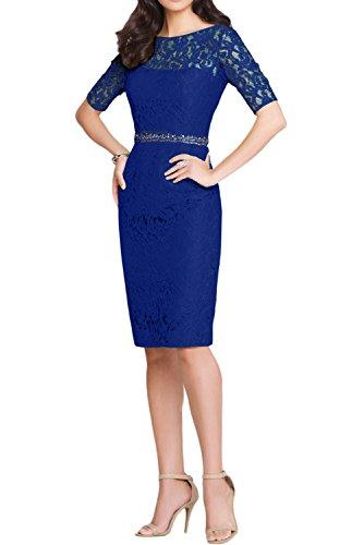 mujer Topkleider Vestido Estuche para real azul tPqPU71