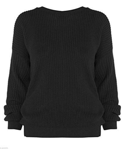 New Girl Fashions - Jerséi - para mujer negro