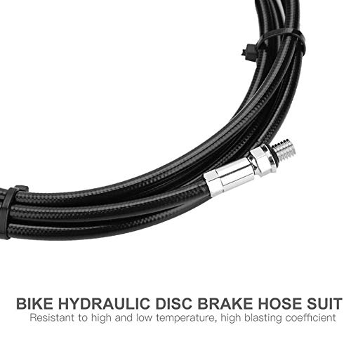 JVSISM 2M Bicycle Hydraulic Disc Brake Hose Set Oil Tube Olive Connector Insert Bike Shift Cable Housing Kits For Avid E5 E9 Er Xx Xo