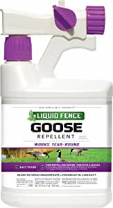 Spectrum Brands Pet Home & Garden HG-1466X Liquid Fence Goose Repellent, Ready to Spray, Qt. - Quantity 6