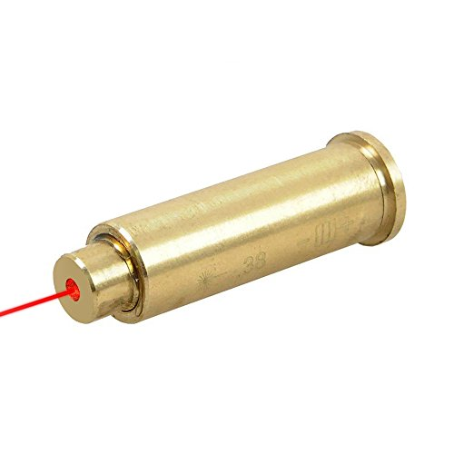 Freehawk 38 Boresighter Special Cartridge Pistol Caliber Chamber Bore sight Sighter Brass Scope for Hunting, Tactical Training,Shooting Practice