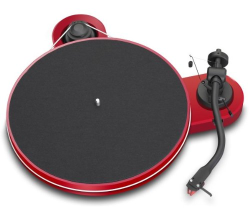 (Pro-Ject RPM 1 Carbon Manual Turntable (Red))