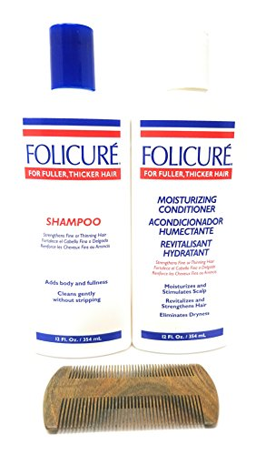 Folicure Shampoo and Folicure Moisturizing Conditioner for sale  Delivered anywhere in USA
