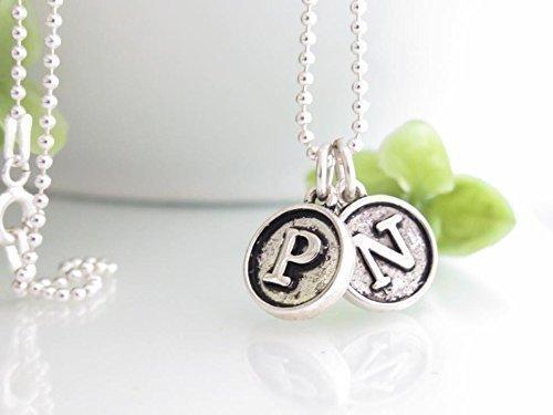 amazon com typewriter key jewelry personalized necklace for mom