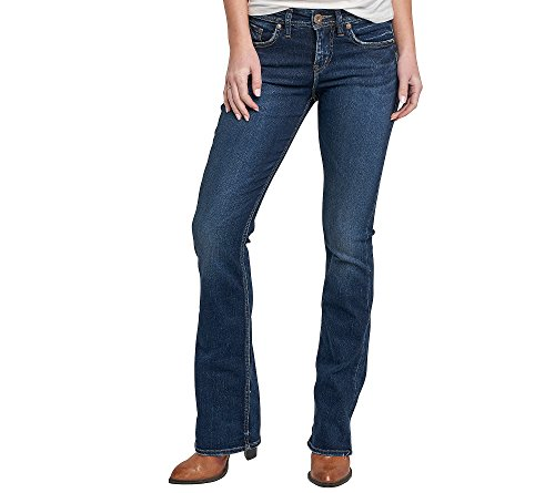 Silver Jeans Women's Co Avery Curvy Fit High - Silver Jeans Aiko Bootcut