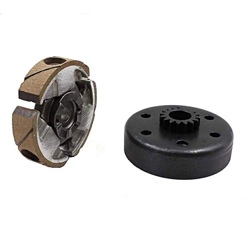 (Amhousejoy Complete Clutch Pad Basket Flywheel Fit for KTM 50 Junior Senior Mini SX PRO LC Mini Adventure)