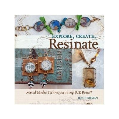 Art Mechanique - Ice Resin Idea Book - Mixed Media Techniques Using Ice - Explore, Create, Resinate