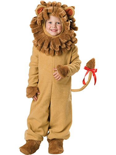 Lion Kids Costumes (InCharacter Costumes Baby's Lil' Lion Costume, Tan, Small)