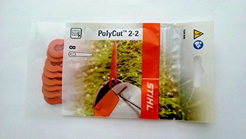 OEM STIHL PolyCut 2-2/8 Blades for FSA 45 Cordless Trimmer (2 pks)