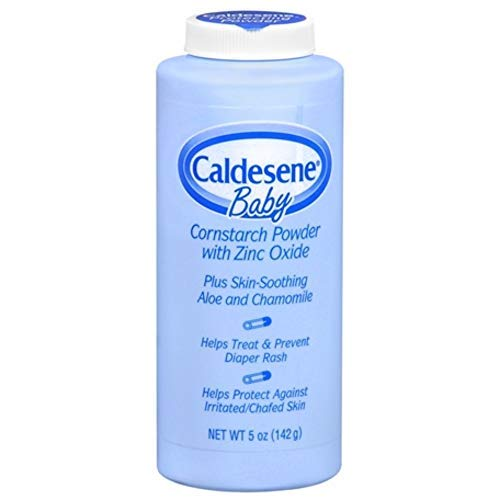 Caldesene Baby Cornstarch Powder With Zinc Oxide 5 oz (Pack of 3) by EMERSON HEALTHCARE