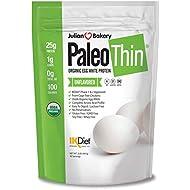 Paleo Thin® Organic Egg White Protein Powder (2 LBS Total)(Soy Free)(30 Servings Total) (GMO Free)