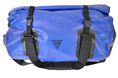 Built U.S.A. Seattle Sports Duffel Bag, Blue, 50 L