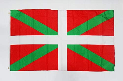 Basque Country Flag 3 x 5 Banner 3x5 ft Light Polyester Euskadi Flags 90 x 150 cm Drapeau Pays Basque AZ FLAG