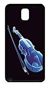 Samsung Galaxy Note 3 N9000 Cases & Covers Violin Custom TPU Soft Case Cover Protector for Samsung Galaxy Note 3 N9000 Black