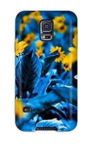 Durable Flower Natural Scene Photography Back Case/cover For Galaxy S5