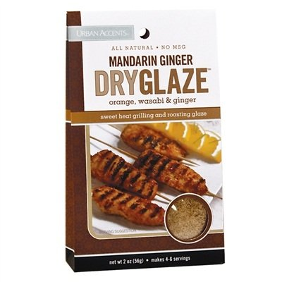 Urban Accents Dry Glaze Mandarin Ginger Orange, Wasabi & Ginger -- 2 oz - Mandarin Glaze