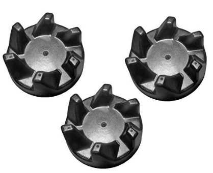 3 Pack Blender Rubber Coupler Clutch for KitchenAid 9704230, AP2930430, PS401661 ()