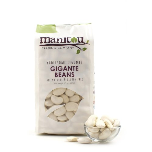 Manitou Gigante Beans - 15 oz (Pack of 6)