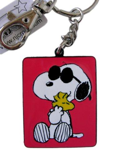 Peanuts Snoopy/Snoopy y Woodstock esmalte Llavero [Oficina ...