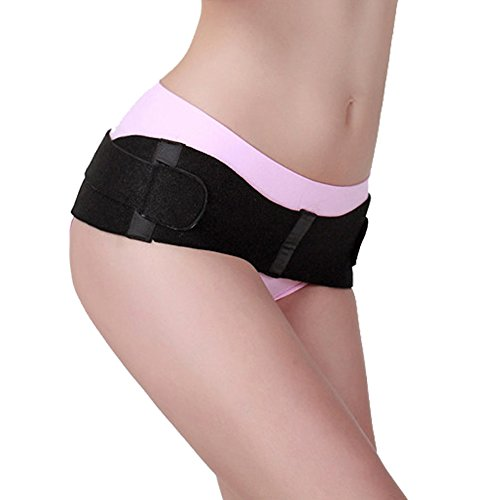 EUBUY Compression Postpartum Recovery Pelvic Corrector Belt Adjustable Soft Post Pregnancy Pelvis Correction Pain Release Hip Shrink Reducer Support Girdle Weight Loss Slimming Brace for Women 51 Inch by EUBUY