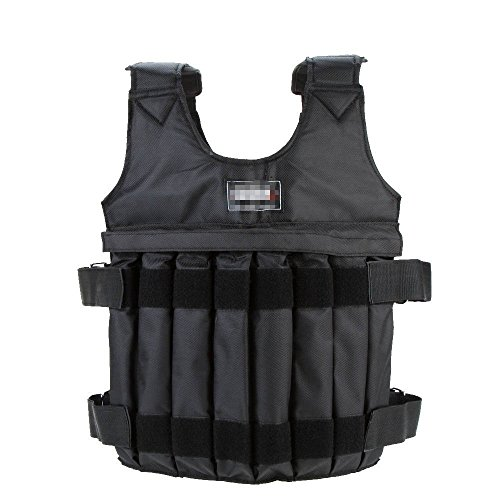 DREAMER.U Adjustable Max Loading 44LB/20KG 110LB/50KG Adjustable Stength Training Weighted Vest (Empty)
