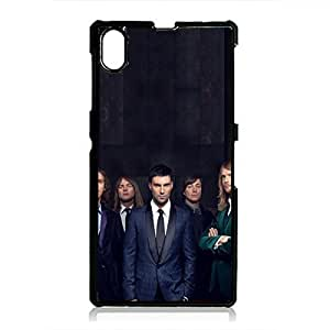 rock & roll band maroon 5 phone case M5 phone case cover 253 maroon 5 Sony Xperia Z1 durable phone case cover for Sony Xperia Z1