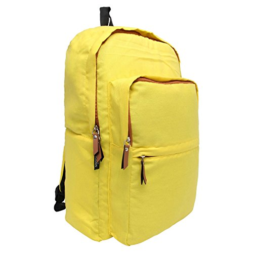Snoogg , Damen Rucksackhandtasche Gelb gelb