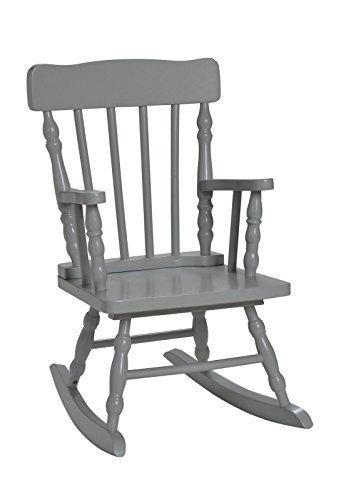 Harriet Bee Gray Rocking Chair