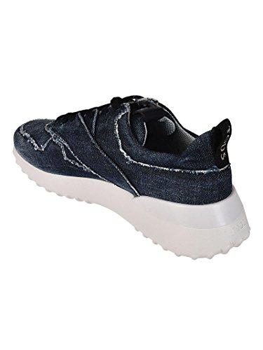 Denim Bleu Tod's Femme Baskets Xxw80a0y570jdlu808 q1Xx06t
