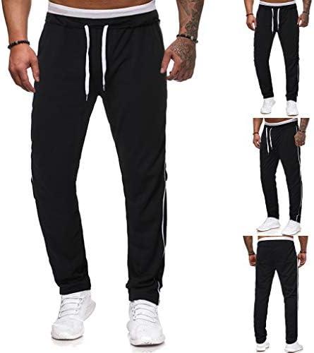 巾着ロングパンツを実行している男性の新しいファッションカジュアルなアウトドアスポーツ