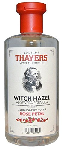 Hazel Witch Alcohol (Thayers Alcohol-free Rose Petal Witch Hazel with Aloe Vera)