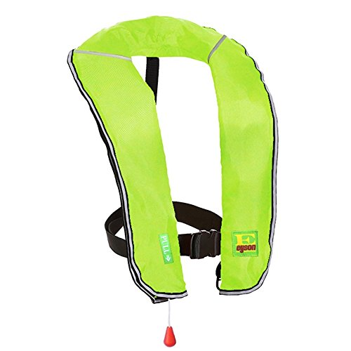 - Eyson Inflatable Life Jacket Inflatable Life Vest for Adult Classic Manual (Neon)