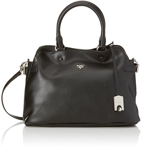 Piero Guidi Magic Circus Pelle Borsa Tote, 33 cm, Nero