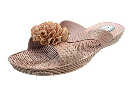 Ladies Millie 002 Sandals Beige Mule xCPSwarqx