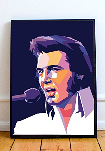 Elvis Home Decor - AAP Elvis Presley Limited Poster Artwork - Professional Wall Art Merchandise (More Sizes Available) (11x14)