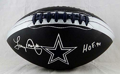 Autographed Tony Dorsett Football - Black Logo W HOF Beckett Auth - Beckett Authentication - Autographed Footballs -